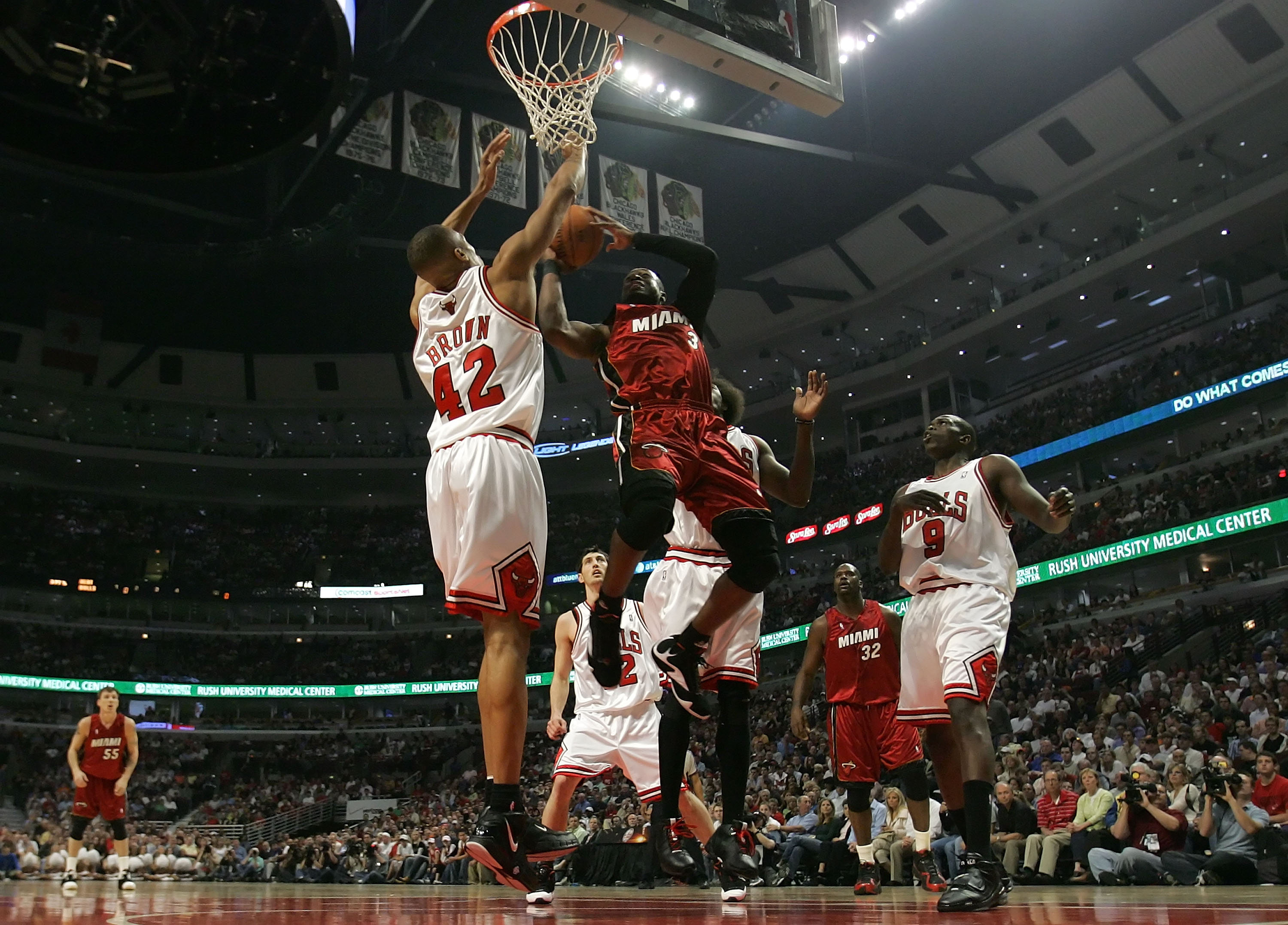 Bulls vs. Heat  From Rose to LeBron 884094c6553a