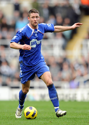 NEWCASTLE UPON TYNE, ENGLAND - FEBRUARY 26: Gary Cahill of Bolton Wanderers in action during the Barclays Premier League match between Newcastle United and Bolton Wanderers at St James' Park on February 26, 2011 in Newcastle upon Tyne, England.  (Photo by