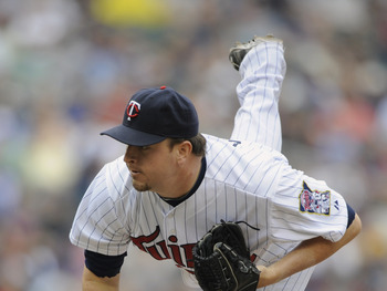 MINNEAPOLIS, MN - MAY 11: Matt Capps #55 of the Minnesota Twins pitches against the Detroit Tigers during in the eighth inning of their game on May 11, 2011 at Target Field in Minneapolis, Minnesota. Tigers defeated the Twins 9-7. (Photo by Hannah Foslien