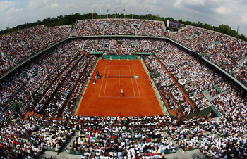 Roland Garros, home of the French Open