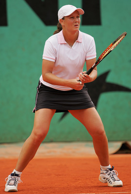 Liezel Huber, at the 2008 French Open.