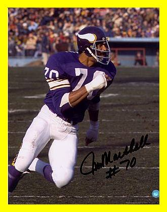 Jim Marshall Was A Star Defensive Tackle For The Vikings