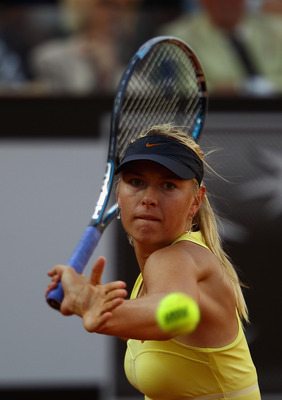 Maria Sharapova captures her first title in Rome, 2011.