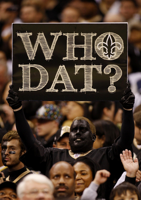 "The ""Who Dat"" nation"