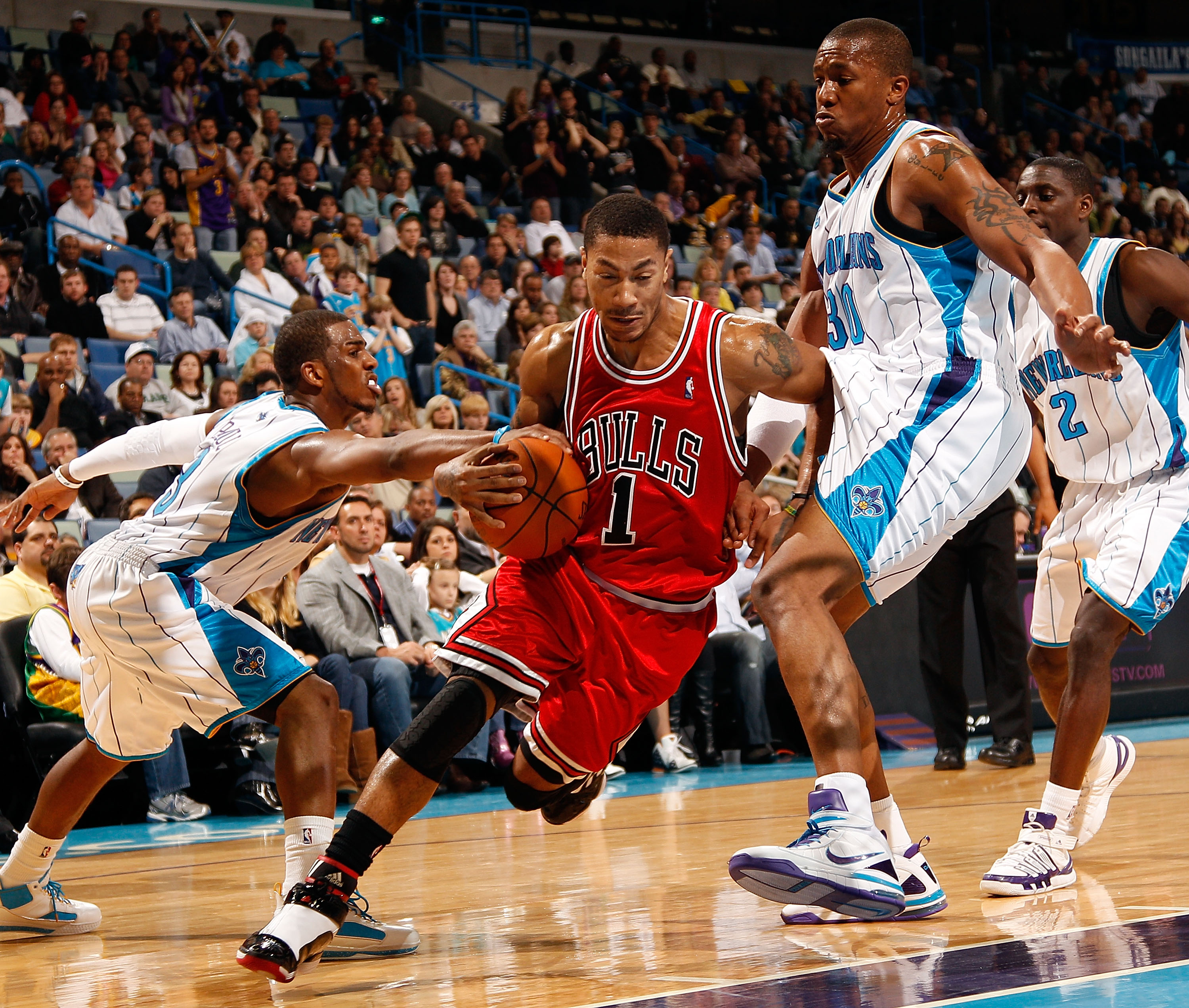 fb28fbf084f Derrick Rose vs. Chris Paul  Debating Who s the Best Point Guard in the NBA