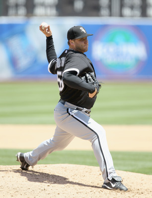 """Mark Buehrle is on pace for over 200 wins, according to Bill James' """"Favorite Toy."""""""