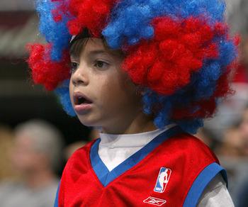 The Clippers' #1 fan