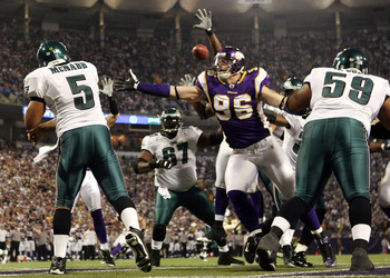 Instead of dodging Vikings, McNabb could be playing for them.