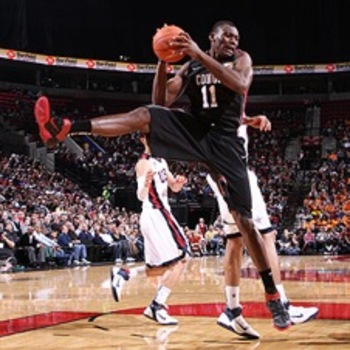 Biyombo could come in and provide the Pistons attitude, blocks and boards.