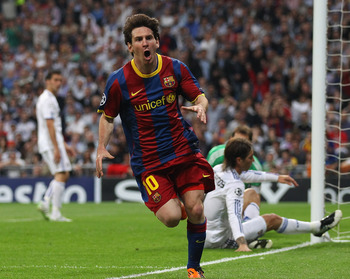 Lionel Messi broke the semi-final stalemate with Barcelona, can Man United keep him quiet?