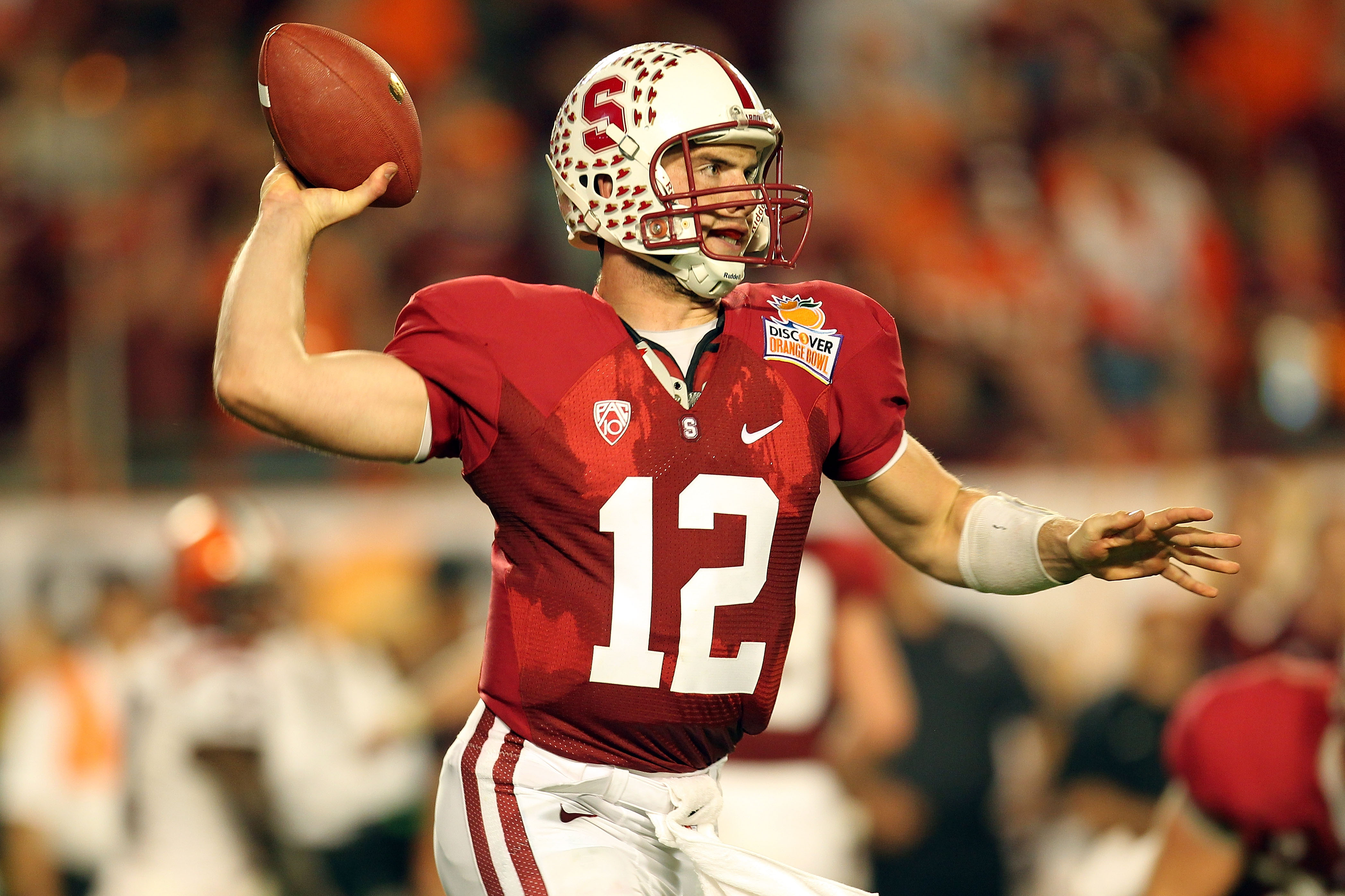 Andrew Luck Stanford Cardinal Football Jersey - Red