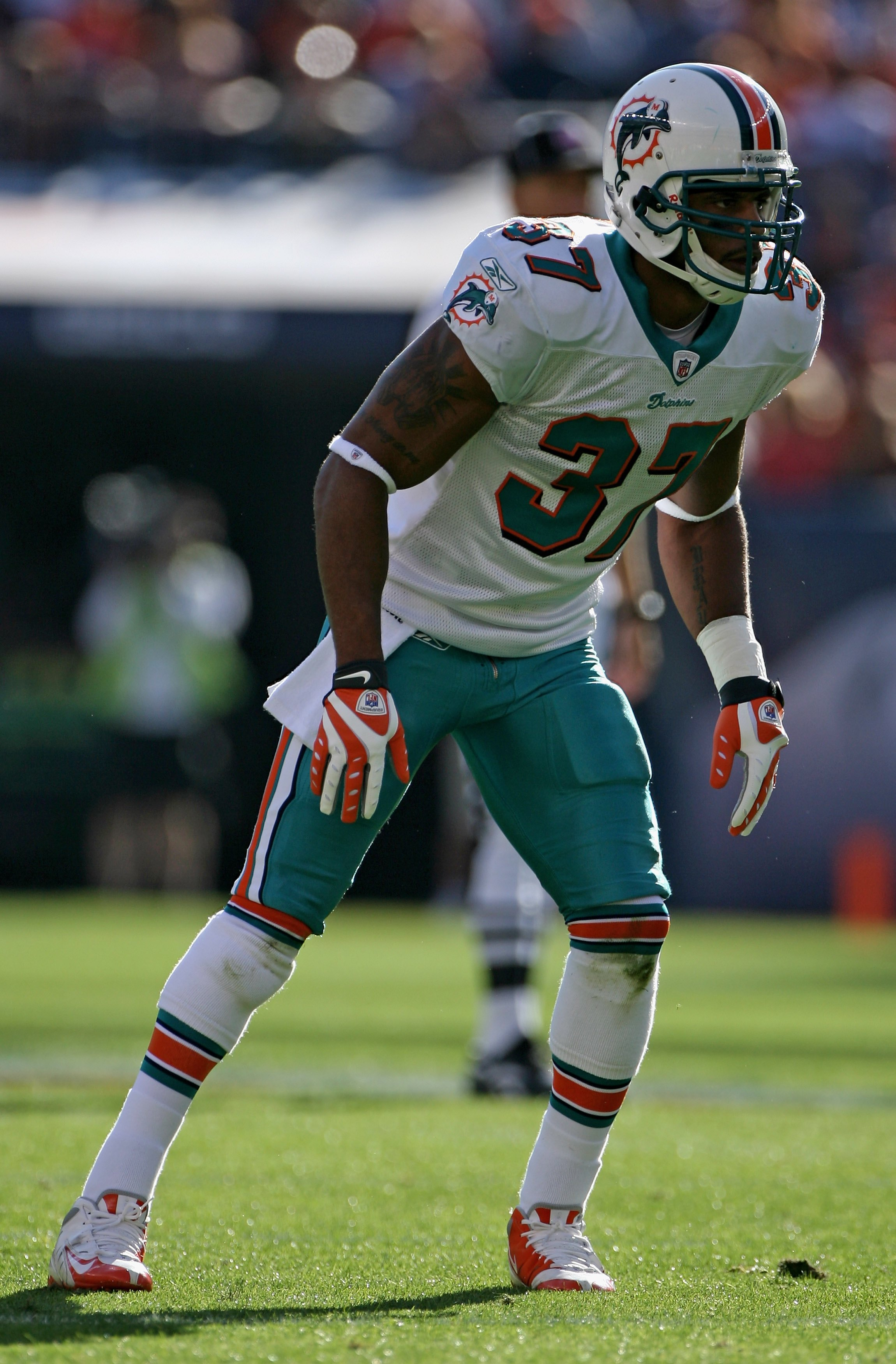 Yeremiah Bell led the Dolphins in tackles with 101 in 2010.