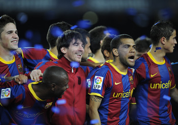It has been a wonderfully successful but tiring season for Barcelona.