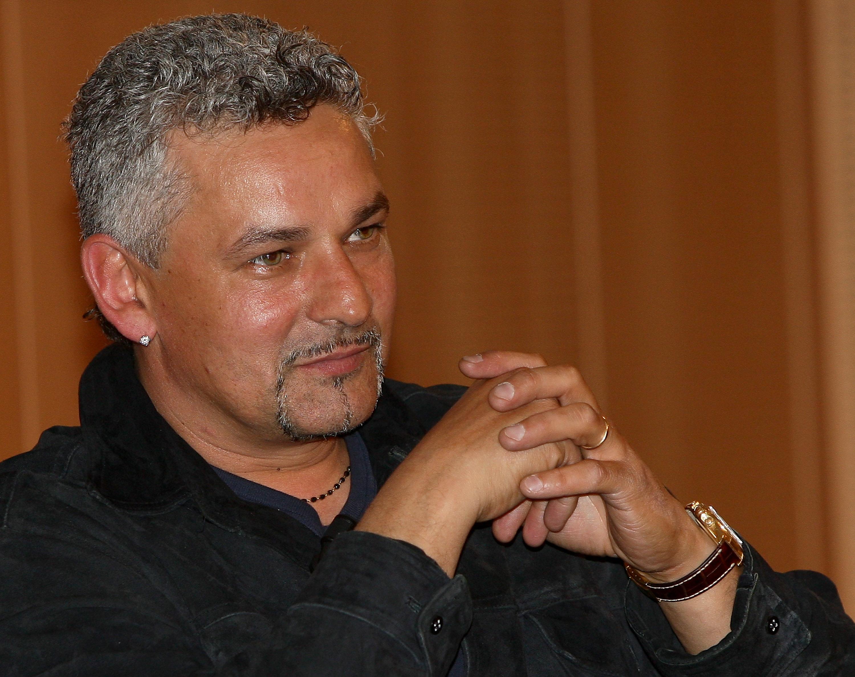 MILAN, ITALY - APRIL 21:  Roberto Baggio attends 'Attaccante Nato' Book Launch held at Sala Buzzati on April 21, 2010 in Milan, Italy.  (Photo by Vittorio Zunino Celotto/Getty Images)