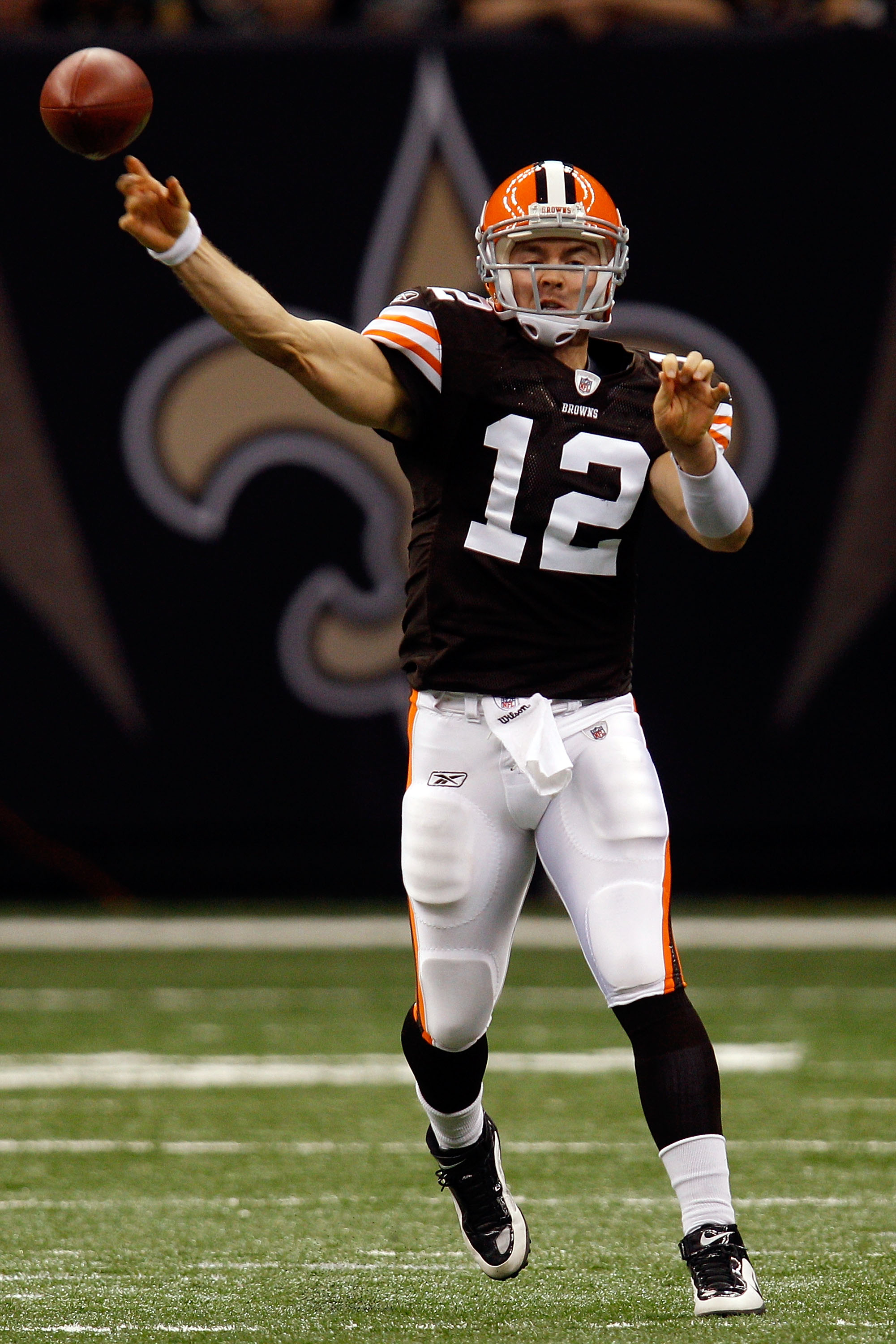 Colt McCoy took over the Browns' starting job for the injured Jake DelHomme and played well.