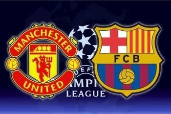 Image result for manchester united vs barcelona