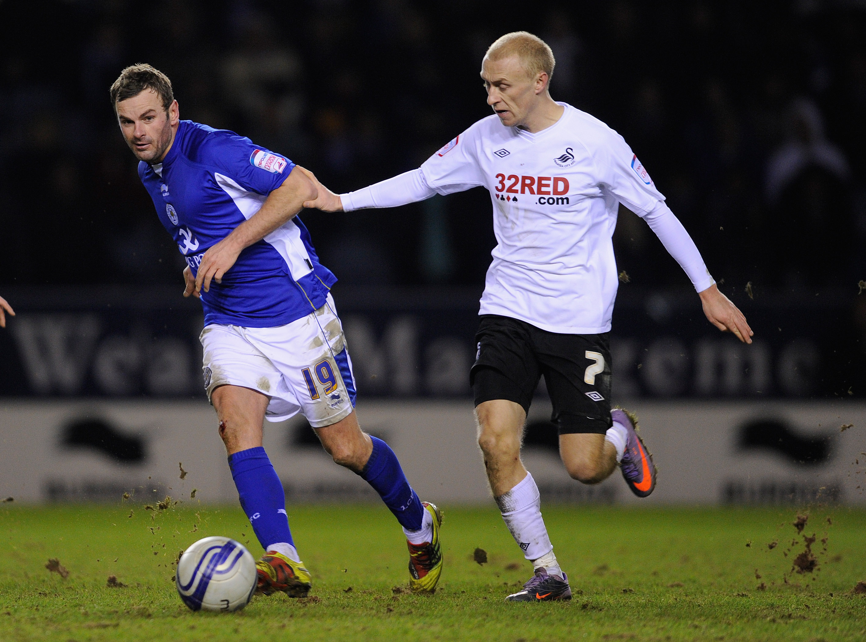 David Cotterill (Right) joined on loan late in the season