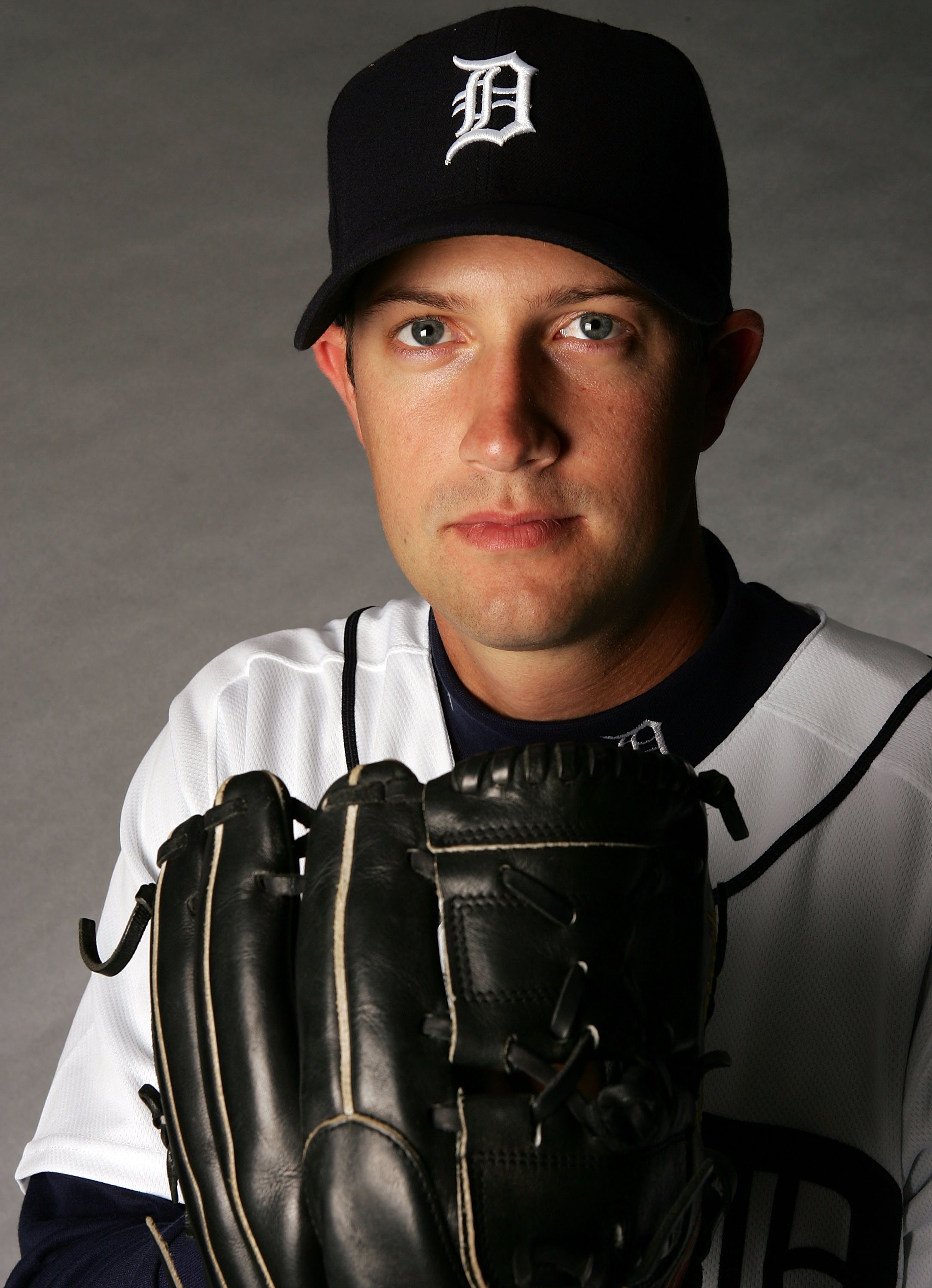 LAKELAND, FL - FEBRUARY 24:  Kyle Sleeth #34 poses for a portrait during the Detroit Tigers Photo Day on February 24, 2007 at Joker Marchant Stadium in Lakeland, Florida.  (Photo by Elsa/Getty Images)