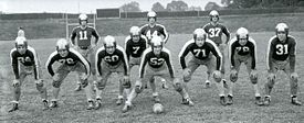 Steagles offensive starting eleven in Eagles uniforms