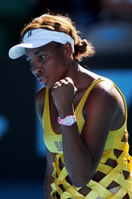 Venus Williams at the 2011 Australian Open.