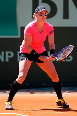 Bethanie Mattek-Sands at the 2011 French Open.