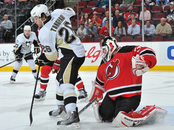 Tangradi is being groomed to replace Ryan Malone as the net-front presence the Penguins so desperately need.