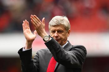 Arsene Wenger; Arsenal manager.
