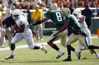 Baylor in a game against the Texas Longhorns.