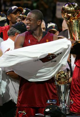 Dwyane Wade, 2006 Finals MVP