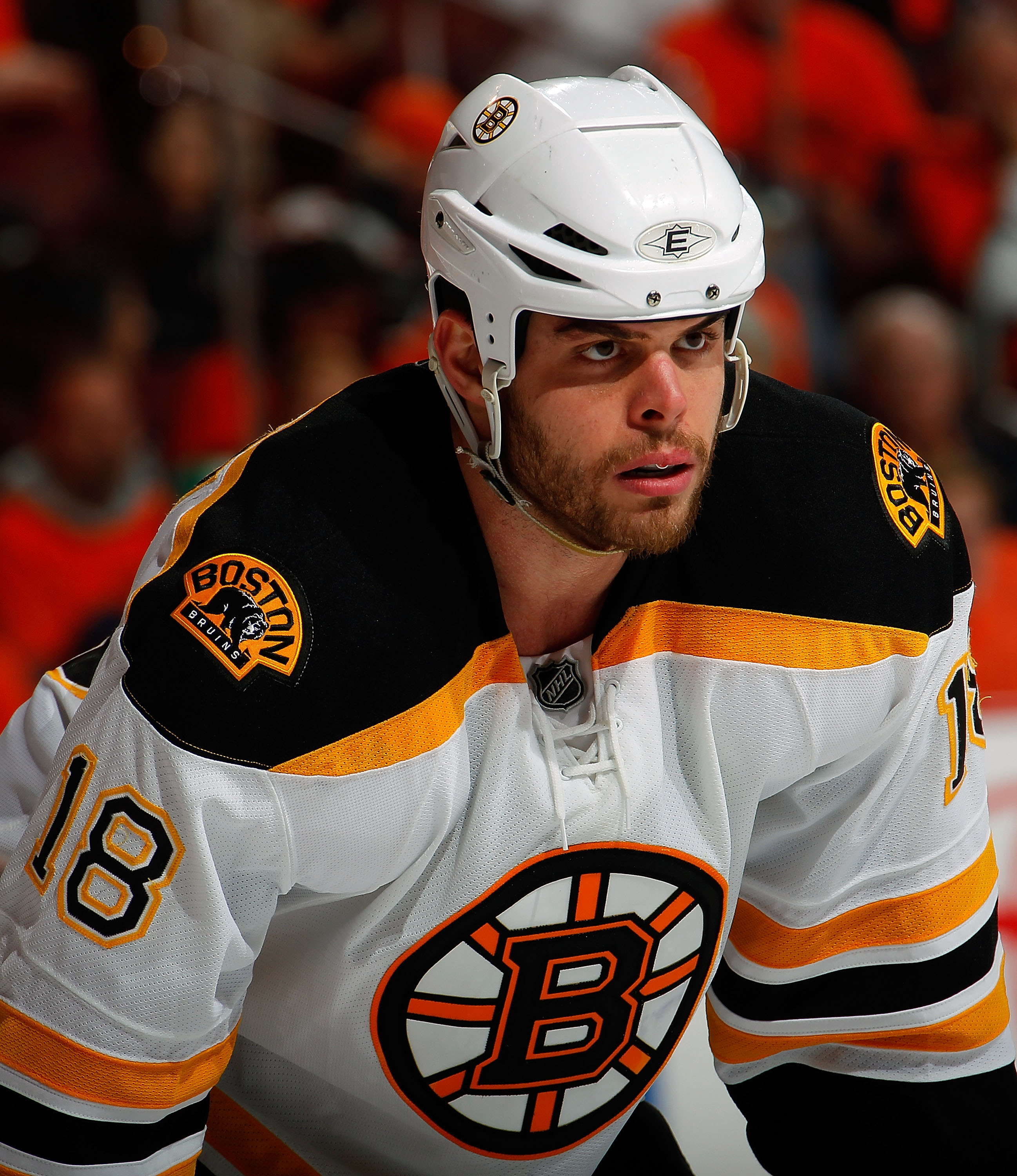 Nathan Horton has gone from hockey purgatory in Florida to hockey nirvana in Boston