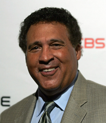 FOXBORO, MA - SEPTEMBER 06:  The NFL on CBS host Greg Gumbel attends the grand opening of the CBS Scene Restaurant & Bar on September 6, 2008 in Foxboro, Massachusetts.  (Photo by Mary Schwalm/Getty Images)