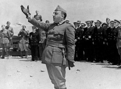 Dictator Francisco Franco