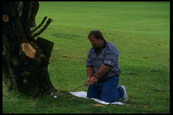 7 Aug 1995:  Craig Stadler at Torrey Pines Golf Course in San Diego, California. Mandatory Credit: Stephen Dunn  /Allsport