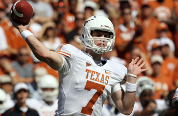 2011 college football preview garrett gilbert and the no 23 texas