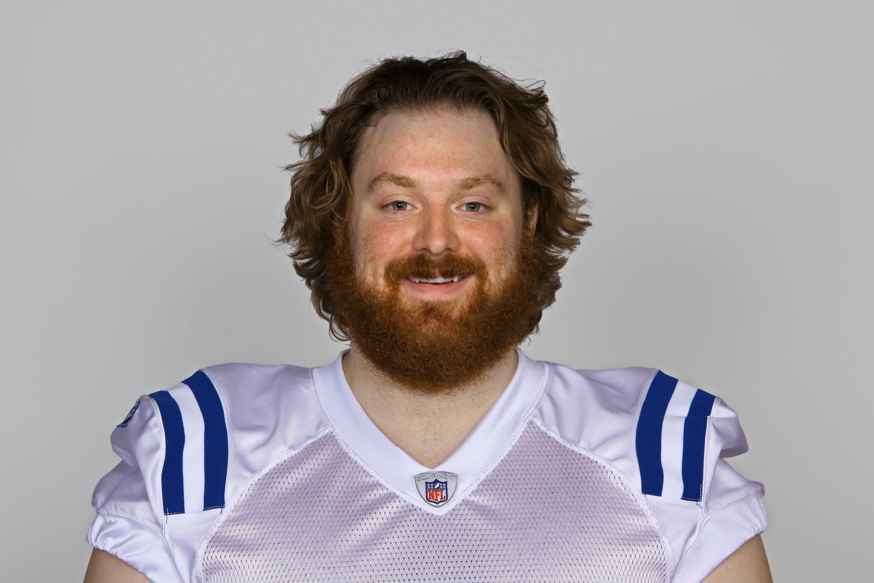 INDIANAPOLIS, IN - CIRCA 2010:  In this handout photo provided by the NFL, Adam Terry of the Indianapolis Colts poses for his 2010 NFL headshot circa 2010 in Indianapolis, Indiana.  (Photo by NFL via Getty Images)