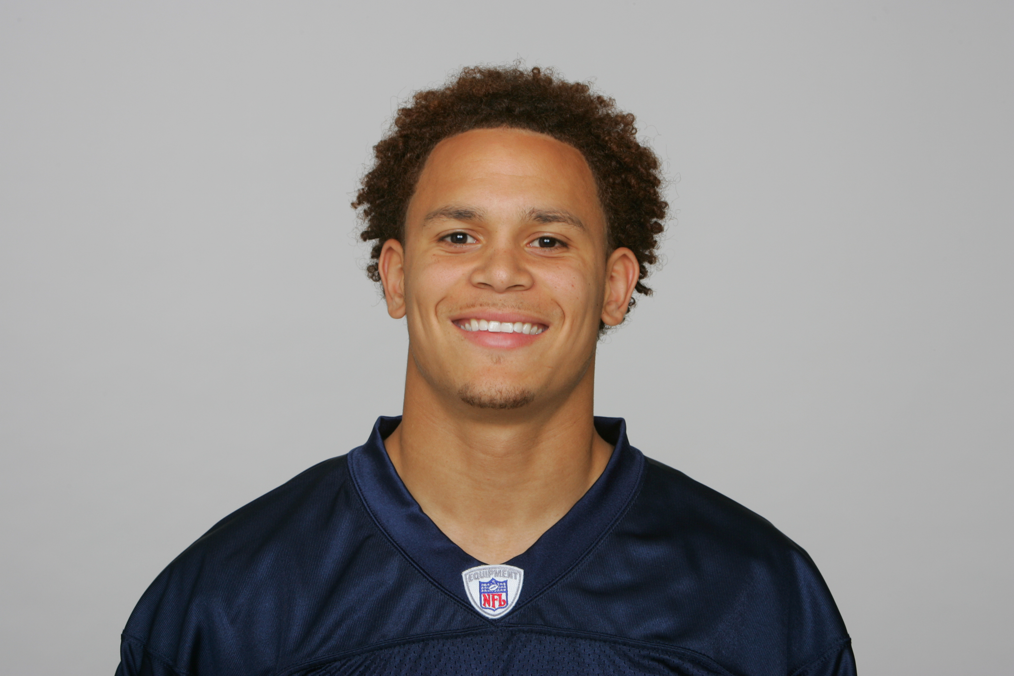 NASHVILLE, TN - CIRCA 2010: In this handout image provided by the NFL,Cortland Finnegan of the Tennessee Titans poses for his 2010 NFL headshot circa 2010 at Baptist Sports Park in Nashville, Tennessee. (Photo by NFL via Getty Images)