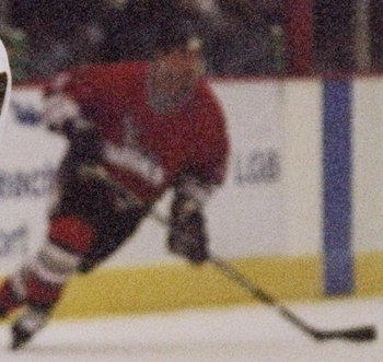 11 May 1998:  #13 Patrick Stefan of the Long Beach Ice Dogs in action during a game against the Kansas City Blades at the Long Beach Arena in Long Beach, California. Mandatory Credit: Jon Ferrey  /Allsport