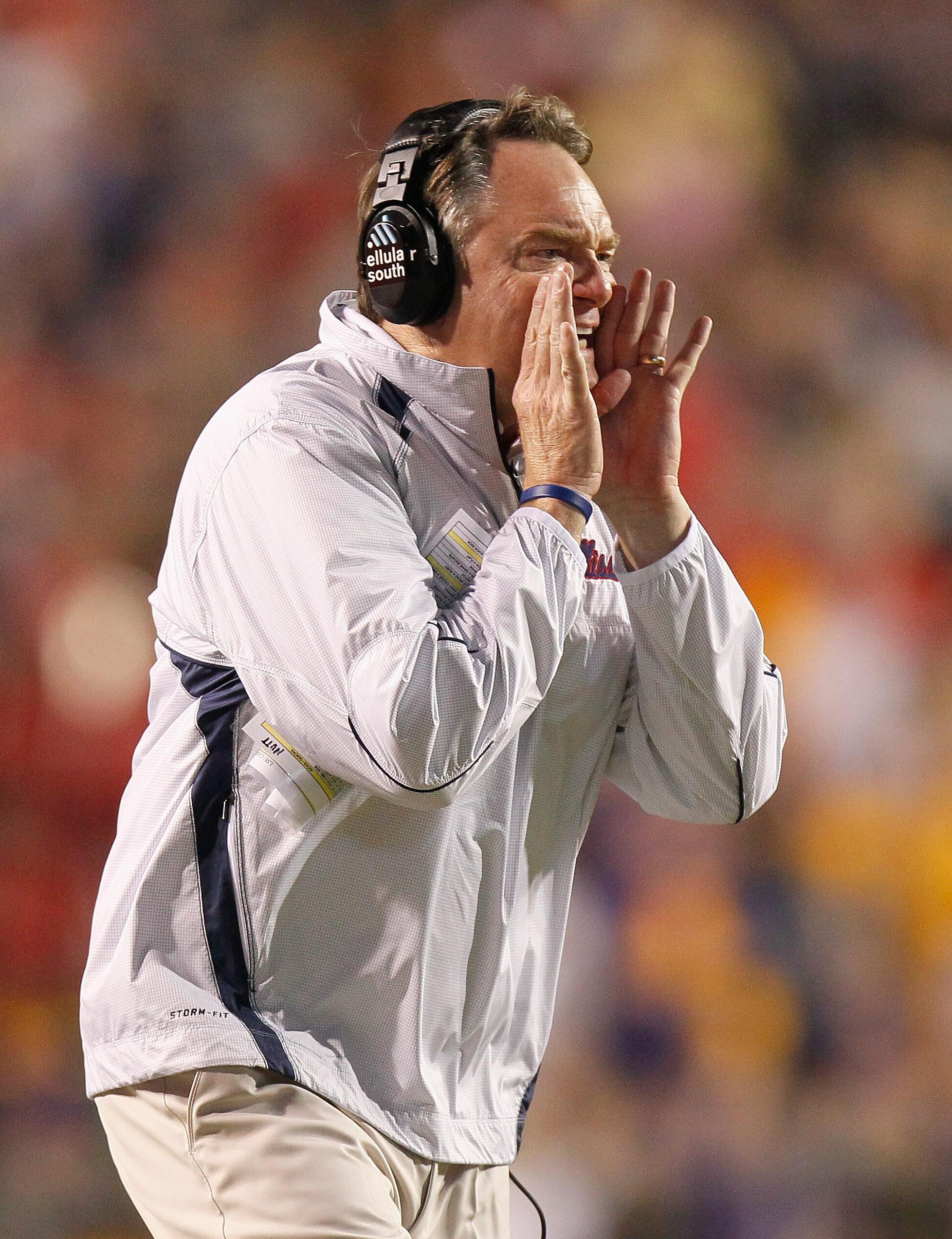 Houston Nutt still has to decide between three quarterback options.