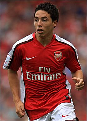 Nasri.... wants to be on par with Fabregas in terms of wages