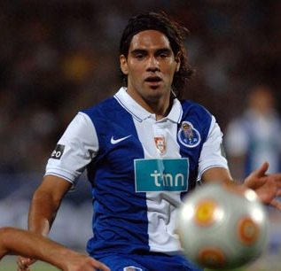 Falcao.... in no rush to leave Porto