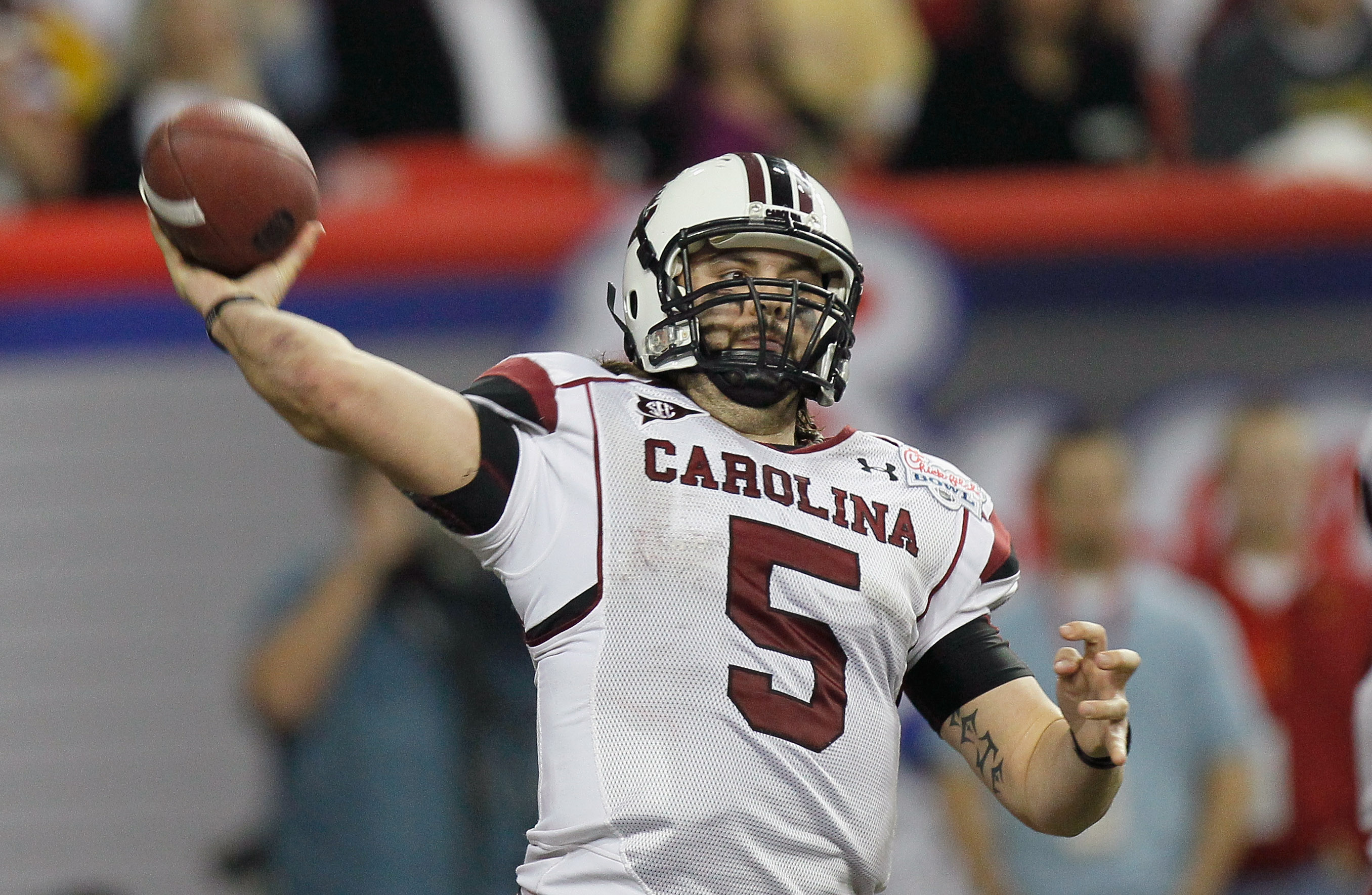 Stephen Garcia has been give one final chance to be the starting quarterback at South Carolina in 2011.