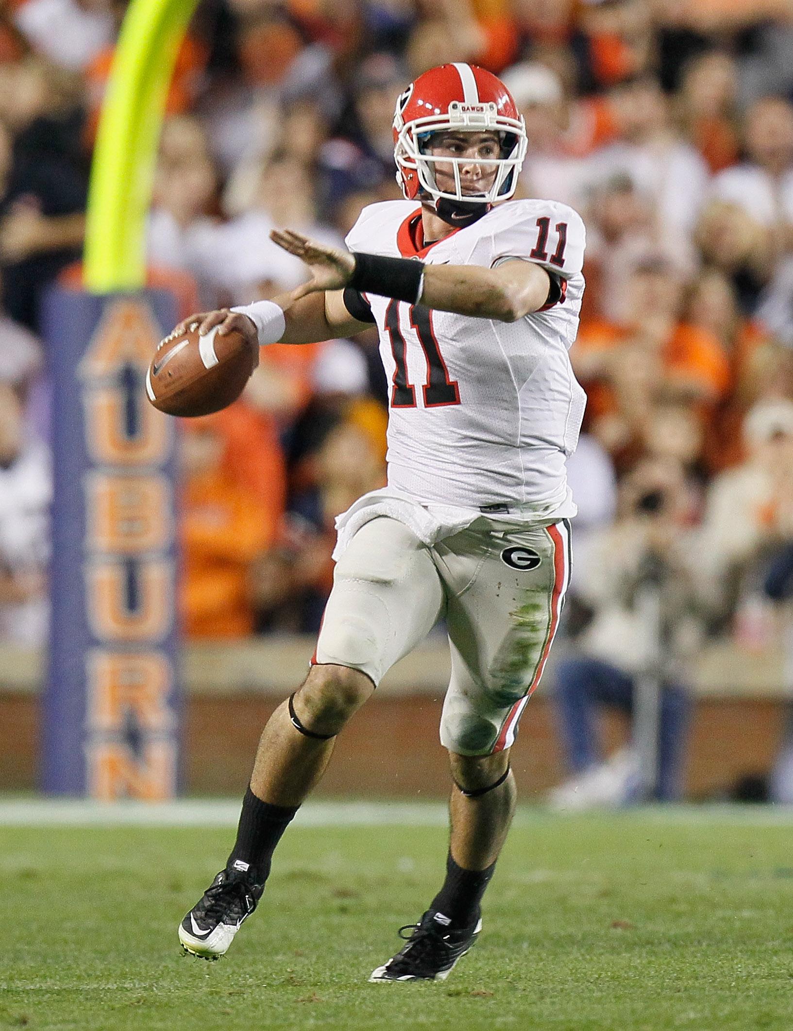 Aaron Murray is the SEC's top quarterback heading in 2011.