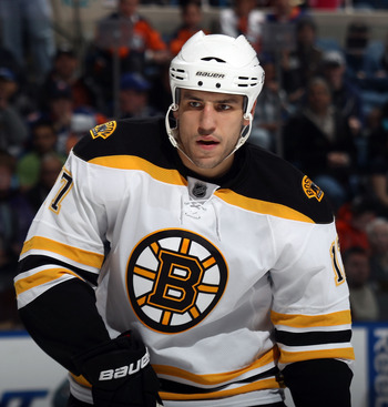 Boston's Milan Lucic will break out of his scoring slump against Vancouver