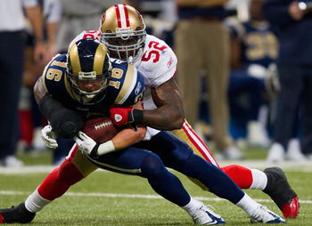 Patrick WIllis is one of the elite players in the NFL, and one reason why many consider the 49ers the most talented team ion the NFC West.