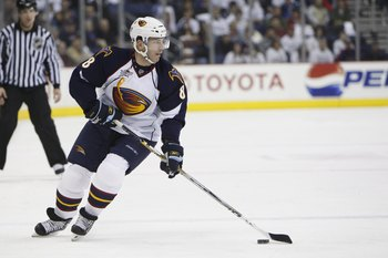 Atlanta Thrashers  The Jerseys the NHL Would ve Been Better off ... 9f70ad863
