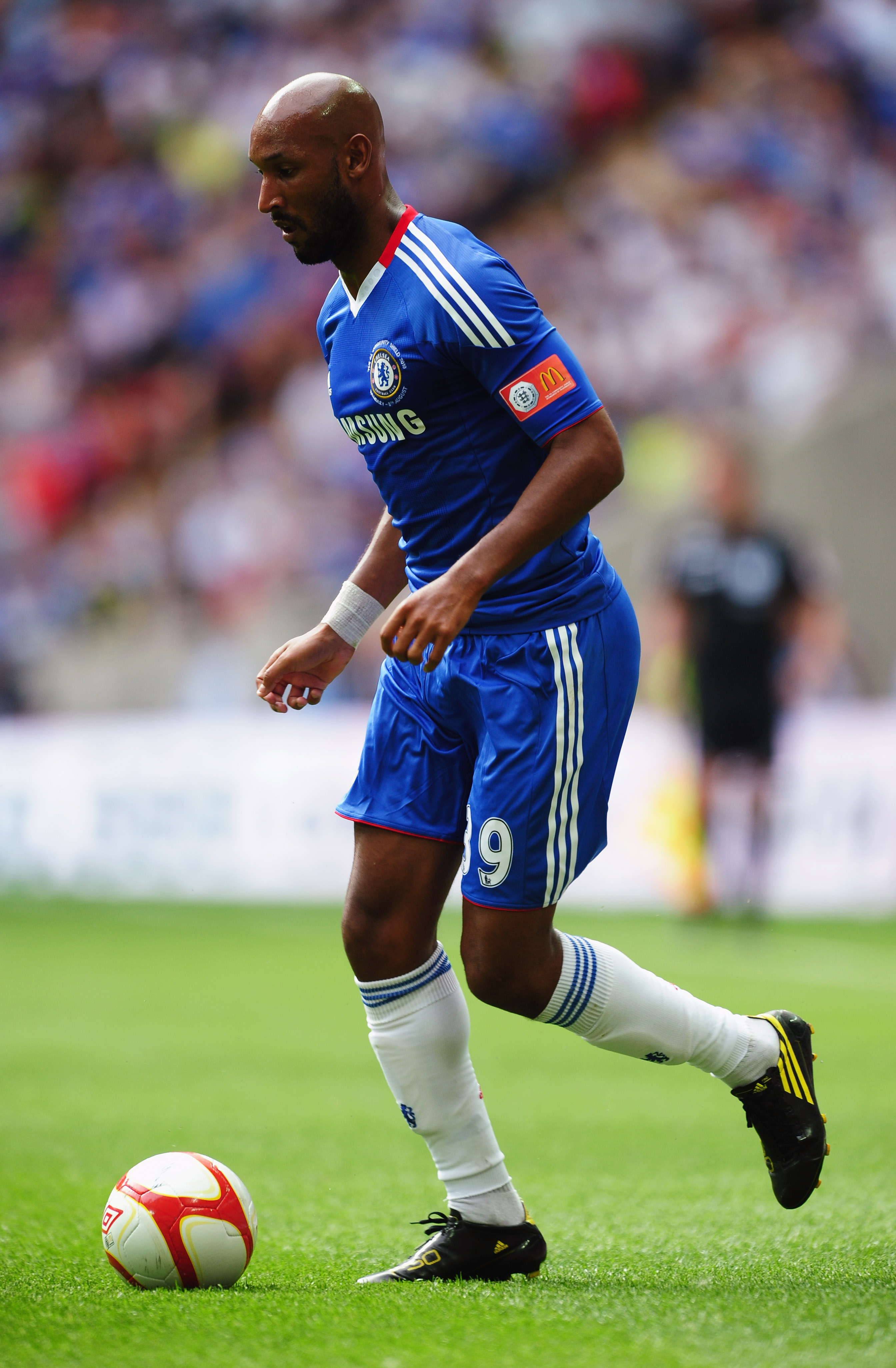 Anelka tends to slow the game down too often and lacks the same passion as his teammates