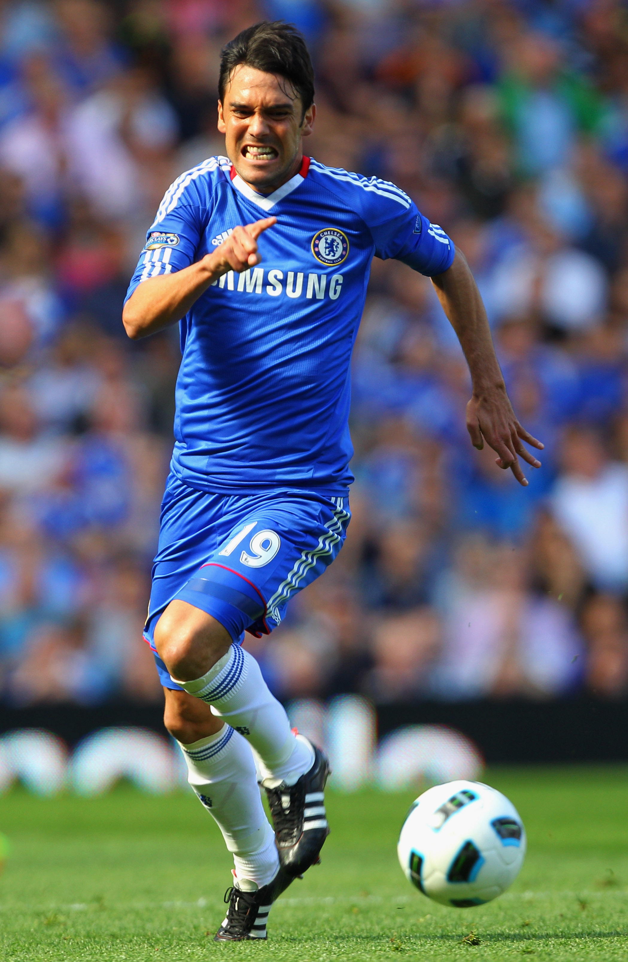Ferreira lacks the pace needed to cope with the Premier League's best wingers