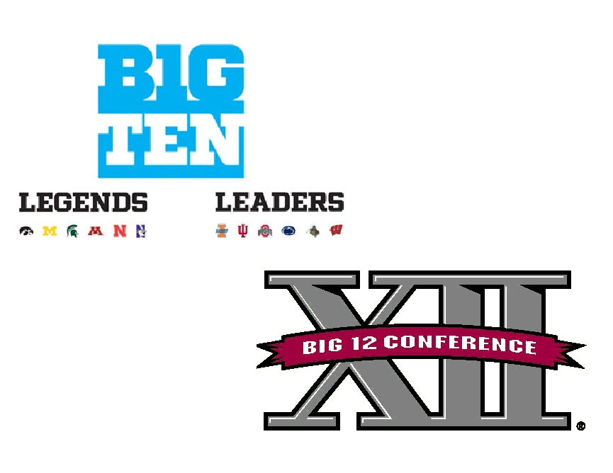 Credit: Big Ten and Big XII
