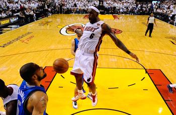 LeBron James is having his best post-season of his career