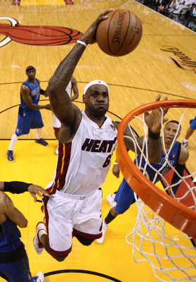 LeBron James and the Heat have a 1-0 lead in the NBA Finals against the Dallas Mavericks